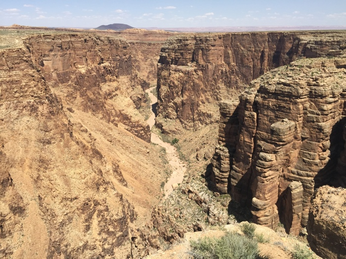 Along the drive to Grand Canyon, we made a whole bunch of pit stops whenever there was a viewpoint. This is the Little Colorado River Gorge viewpoint. Was pretty much our first view of the Grand Canyon and it already took my breath away.