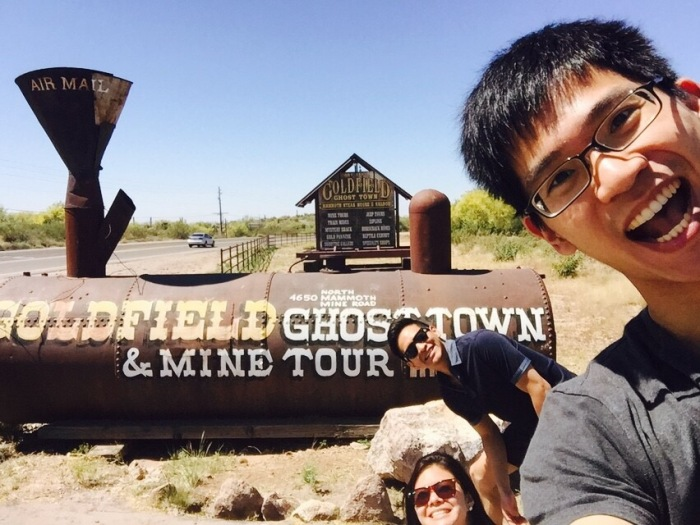 First stop - Goldfield Ghost Town! We came a bit earlier than usual people so it really felt like a ghost town with only us and a few others there. Pretty cool set up!
