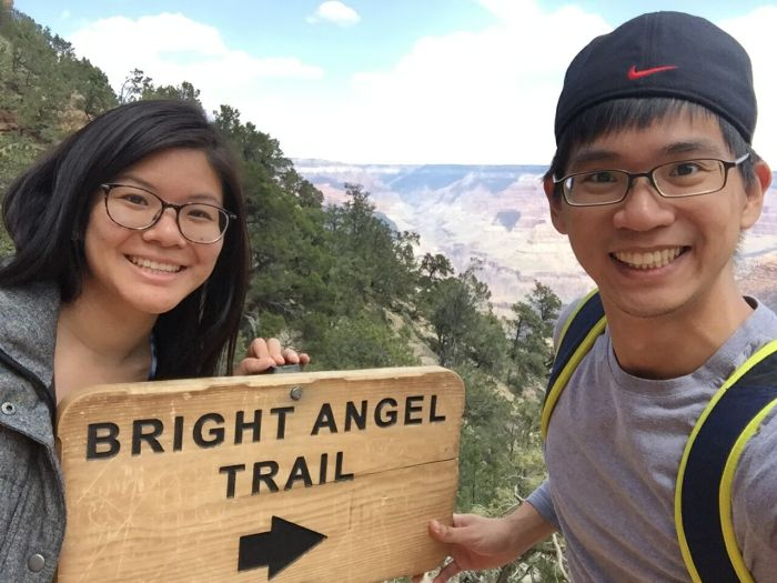 I think if next time when I'm back at Grand Canyon. I'd like to try and hike all the way down!