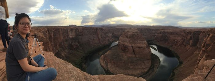 Horseshoe Bend was a pretty amazing site to take it all in and enjoy a nice sunset. It's massive and a beautiful natural wonder.