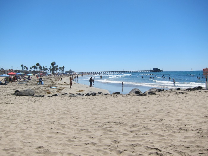 Newport beach might just be my favorite beach that we visited during this trip.
