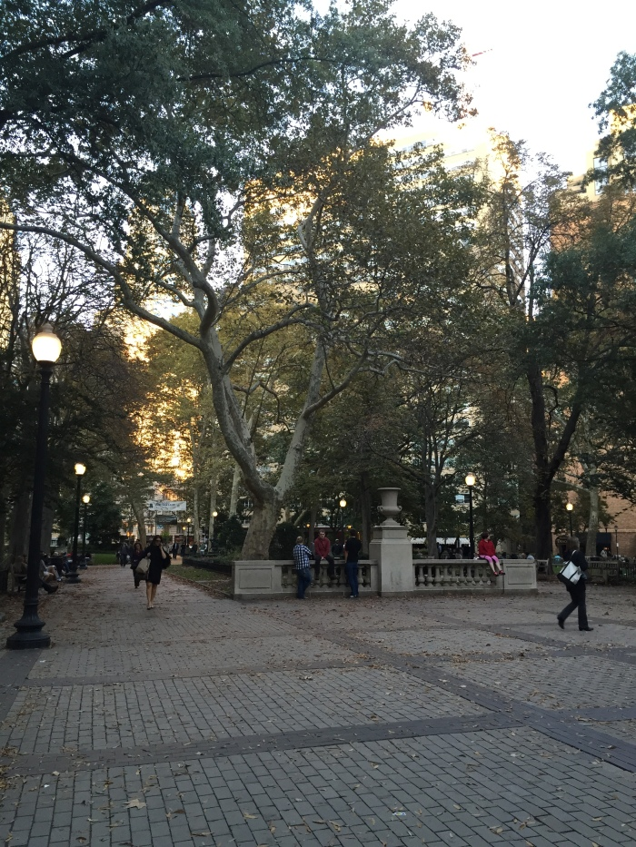 Rittenhouse Square. One of the five original open space public parks planned by William Penn. Wish we had more of these in Dallas.