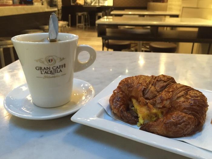Breakfast before work