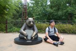 Panda at the National Zoological Park!